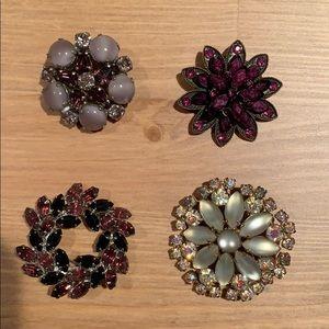 Set of Decorative Pins